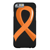 Leukemia Orange Ribbon 3 Barely There iPhone 6 Case