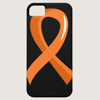 Leukemia Orange Ribbon 3 iPhone SE/5/5s Case