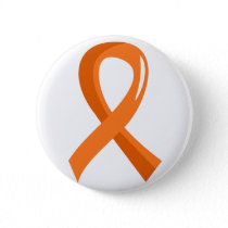 Leukemia Orange Ribbon 3 Pinback Button