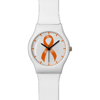 Leukemia Orange Ribbon Watch