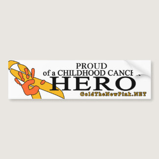 "Leukemia - ""Proud"" Bumper Sticker"