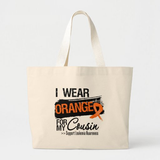 Leukemia Ribbon For My Cousin Tote Bag