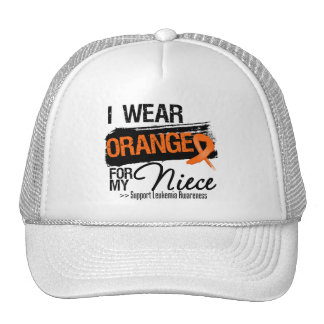 Leukemia Ribbon For My Niece Trucker Hat