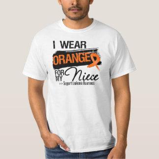 Leukemia Ribbon For My Niece T-shirt