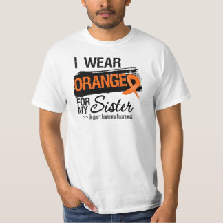 Leukemia Ribbon For My Sister Tshirts