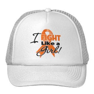 Leukemia Ribbon - I Fight Like a Girl Hat