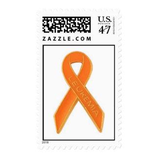 Leukemia ribbon stamp