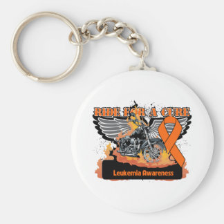 Leukemia Ride For a Cure Keychains