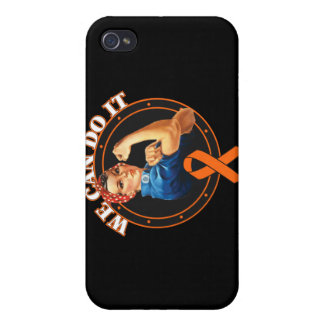 Leukemia - Rosie The Riveter - We Can Do It iPhone 4/4S Cover