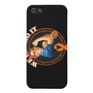 Leukemia - Rosie The Riveter - We Can Do It iPhone 5 Case