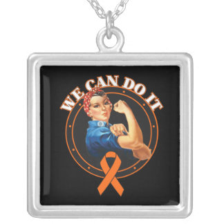 Leukemia - Rosie The Riveter - We Can Do It Custom Jewelry