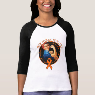 Leukemia - Rosie The Riveter - We Can Do It Shirt