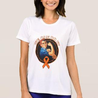 Leukemia - Rosie The Riveter - We Can Do It Tshirt