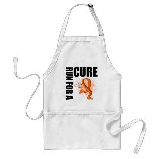 Leukemia Run For A Cure Apron
