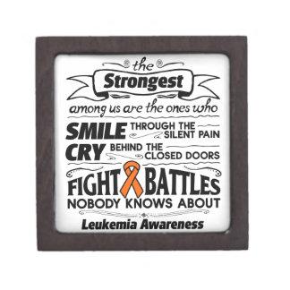 Leukemia Strongest Among Us Gift Box