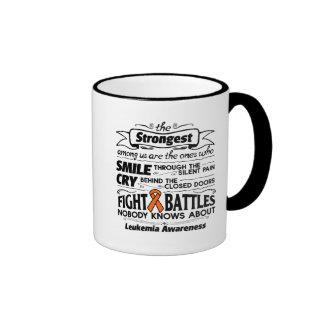 Leukemia Strongest Among Us Ringer Mug