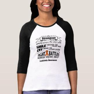 Leukemia Strongest Among Us Shirt