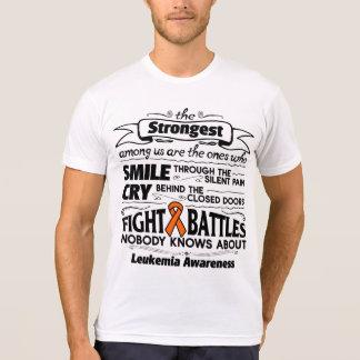 Leukemia Strongest Among Us T-shirt