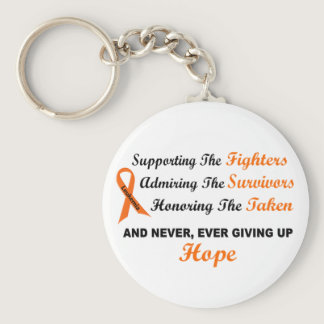 LEUKEMIA Supporting Admiring Honoring 1 Keychain
