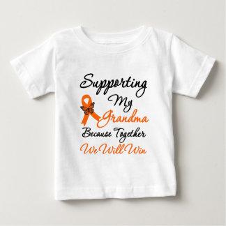 Leukemia Supporting My Grandma Baby T-Shirt