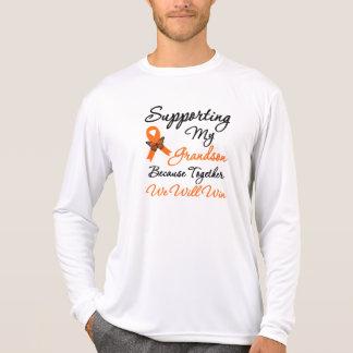 Leukemia Supporting My Grandson Tee Shirts