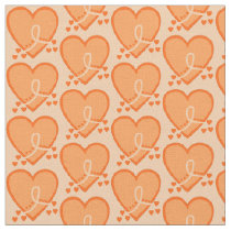 Leukemia Survival Heart Fabric