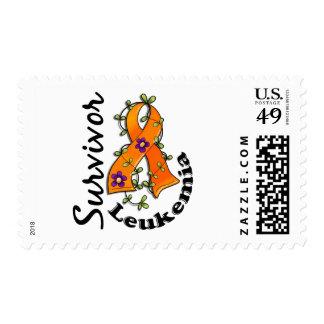 Leukemia Survivor 15 Stamps