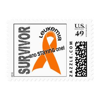 LEUKEMIA Survivor 1 Stamp