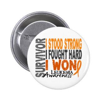 Leukemia Survivor 4 Button