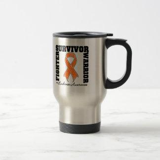 Leukemia Survivor Fighter Warrior Coffee Mugs
