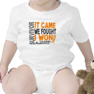 Leukemia Survivor It Came We Fought I Won Shirt