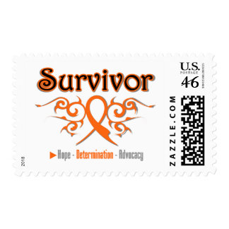 Leukemia Survivor Tribal Ribbon Postage Stamps