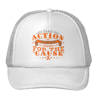 Leukemia Take Action Fight For The Cause Trucker Hat