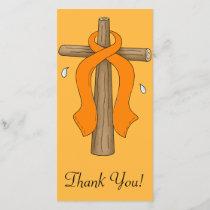 Leukemia Thank You Card