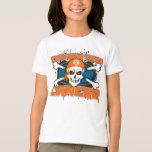 Leukemia Tougher Than Cancer Skull T-Shirt