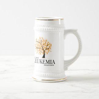 Leukemia Tree Beer Stein