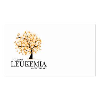 Leukemia Tree Business Card