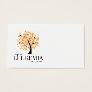 Leukemia Tree Business Card