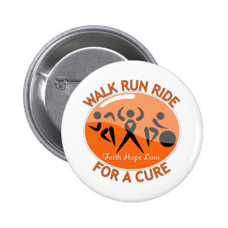Leukemia Walk Run Ride For A Cure Button