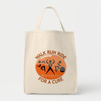 Leukemia Walk Run Ride For A Cure Tote Bag