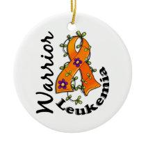 Leukemia Warrior 15 Ceramic Ornament