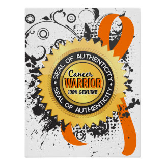 Leukemia Warrior 23 Poster