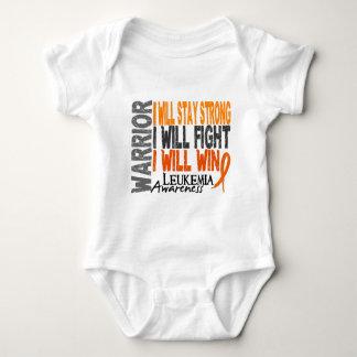 Leukemia Warrior Baby Bodysuit