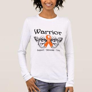 Leukemia Warrior Scroll Long Sleeve T-Shirt