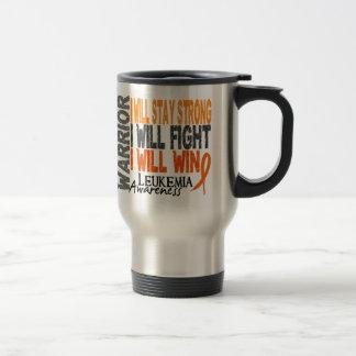 Leukemia Warrior Travel Mug