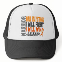 Leukemia Warrior Trucker Hat