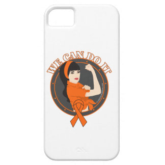 Leukemia We Can Do It (Asian Girl) iPhone 5 Case