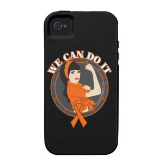 Leukemia We Can Do It (Asian Girl) Vibe iPhone 4 Case