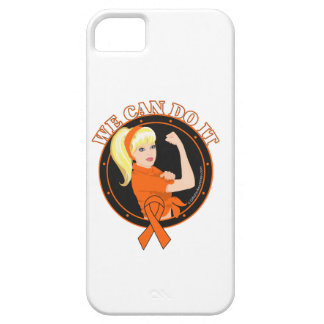 Leukemia We Can Do It (W.01) iPhone 5 Case