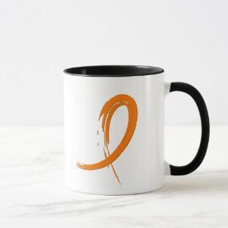Leukemia's Orange Ribbon A4 Mug